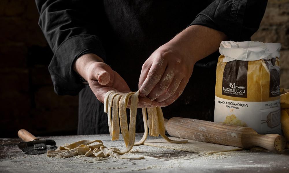 immagine emozionale di prodotto - semola s7 per pasta